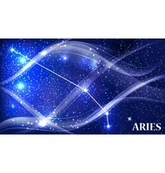 Symbol aries zodiac sign vector