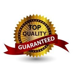 Top quality label sign vector image