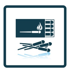 Match box icon vector image