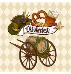 Oktoberfest celebration design vector