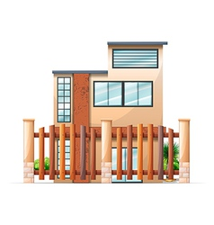 A gated building vector