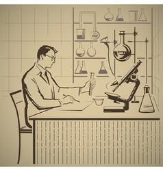 Chemistry2 vector image