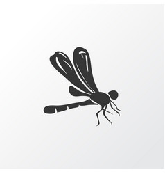 dragonfly icon symbol premium quality isolated vector image