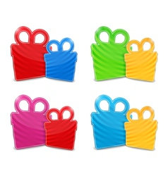 Gift Boxes vector image