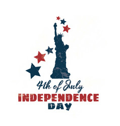 happy 4th of july independence day vector image