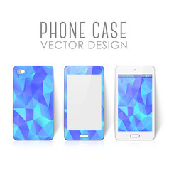 Mobile phone cover vector