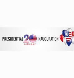 Presidential inauguration usa 2021 january 20 vector
