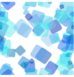 Seamless chaotic square pattern background - vector