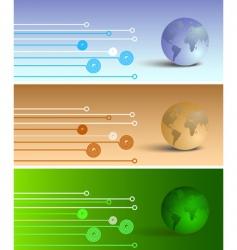 metallic halftone vector image