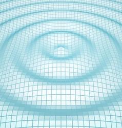 abstract mosaic 3d amplitude waves vector image vector image