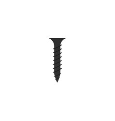 bolt screw graphic design template isolated vector image