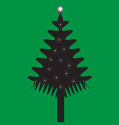 Christmas of tree vector
