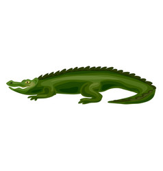 crocodile icon cartoon style vector image