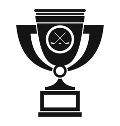 Cup icon simple style vector image