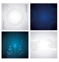 Cyber security digital vector