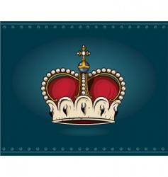 Heraldic crown vector