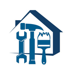 home repair with a tool vector image