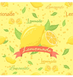 Lemonade Seamless Pattern vector