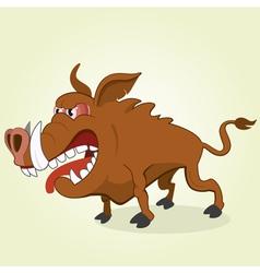 Wild hog vector