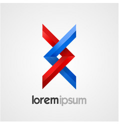 Creative abstract symbol template vector