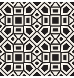 Seamless mosaic ethnic pattern vector