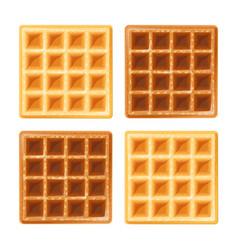 Belgian waffle vector