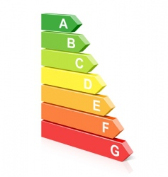 energy classification symbol vector image