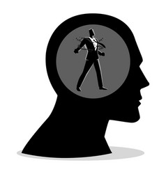 free your mind vector image