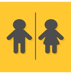 Male Female sign Man and Woman gender icon vector