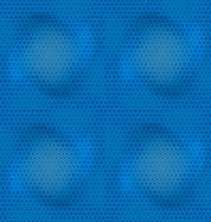 Seamless grungy raster pattern vector image