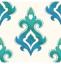 Watercolor seamless pattern can be used vector