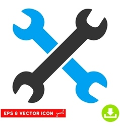 Wrenches Eps Icon vector