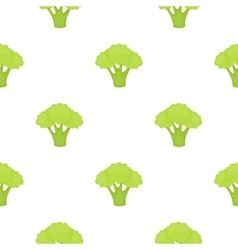Broccoli icon cartoon Singe vegetables icon from vector image vector image