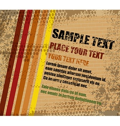 Abstract grungy background vector image vector image