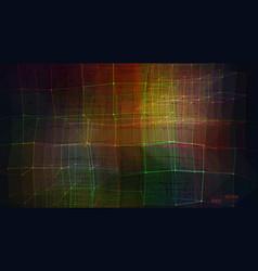 abstract geometric haos vector image