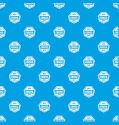 Best choise label pattern seamless blue vector