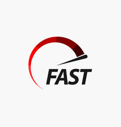 Fast template design vector