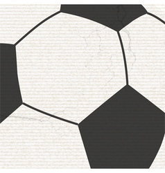 football background with grunge vector image