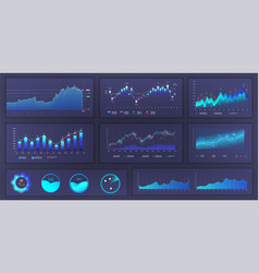 modern infographic ui ux web elements design vector image