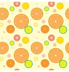 Orange Seamless vector image