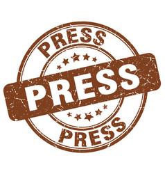 Press stamp vector