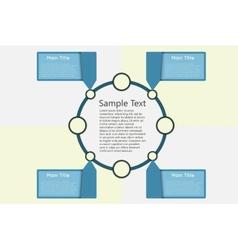 round chart vector image