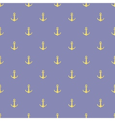 Seamless pattern of anchor vector image