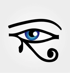 The eye of Horus vector image vector image
