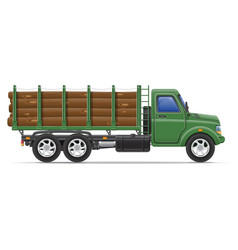 cargo truck concept 11 vector image vector image