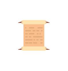 parchment paper antique medieval flat design vector image