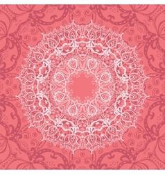 Pink Mandala vector