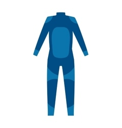 Scuba suit vector image