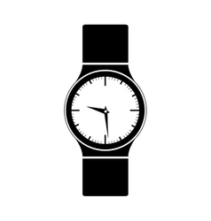 Wristwatch icon image vector