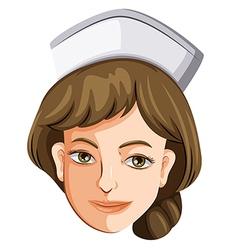 A female nurse vector image vector image